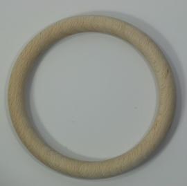 Houten ring beuken blank 115x12mm  Per stuk