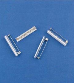 Brochespelden met zelfklevend foam 38 mm 4 ST 11808-1171