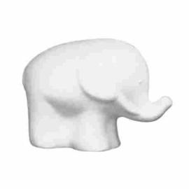 Styropor olifant