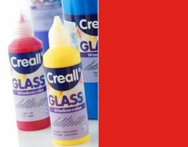 Creall Glass - glasstickerverf rood 1 FL - 80 ML 20515