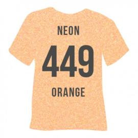 449 Neon Oranje Pearl Glitter