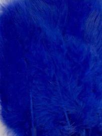 Marabou veren kobalt blauw 15 ST