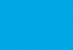 1 PK (10 VL) Tekenpapier azuurblauw 50X70/130G