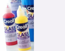 Creall Glass - glasstickerverf frost 1 FL - 80 ML 20566