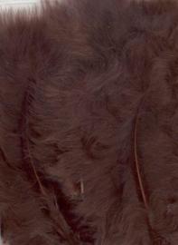 Marabou veren bruin 15 ST