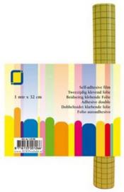 1 RL (1MTR) Sandy Art®2-zijdig klevend folie (raster) 32 mm