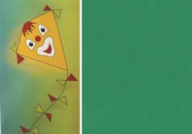Folia Vliegerpapier donkergroen 70x100cm 88120-50
