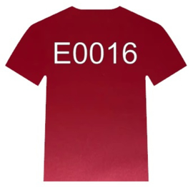 E0016  Electric Cranberry Siser
