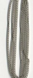 Ketting fijn zilverkleur 1,9 mm 1 MT 11809-9401