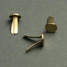 splitpen 14 mm vermessingd 50 stuks