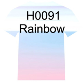 H0091   Regenboog/Parel Siser Holographic