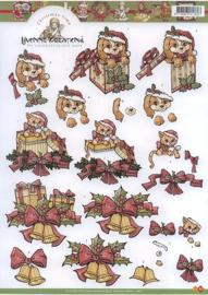 CD HJ 8101 Kersthondjes