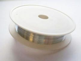 Binddraad op rol metaal 02mmx30m platinum 1 ST 12273-7321