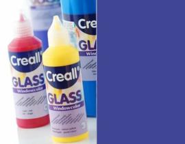 Creall Glass - glasstickerverf blauw 1 FL - 80 ML 20535