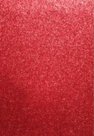 EVA foam vellen 2mm 22x30cm Rood glitter 12315-1534