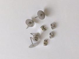 Oorsteker 10mm platinum 2 paar 12199-9910