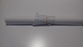 subli flex wit 32x50 {met streepjes pen}