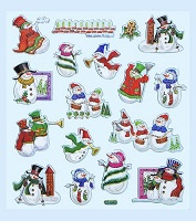 HOBBY-Design Stickers Sneeuwpop