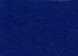 Viltlapje viscose donkerblauw   20x30cm - 1mm   1 vel