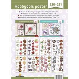 Hobbydols poster 220-221