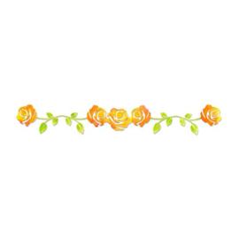 1 ST (1 ST)  Sizzlits Decorative Strip Die Rose Vine 658512 Scrappy Cat