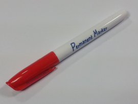 Collall Krimpie Permanent marker - rood COLPTS11
