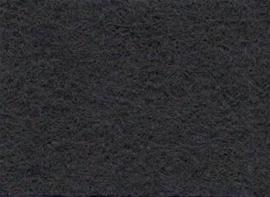Viltlapje viscose donkergrijs   20x30cm - 1mm  1 vel