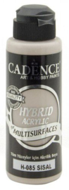 Cadence Hybride acrylverf (semi mat) Sisal 01 001 0085 0120 120 ml