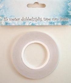 Nellie's Choice Tissue tape dubbelzijdig klevend 3 mm 09.03.11.007