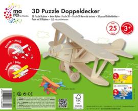 3D puzzle - Mara dubbeldekker