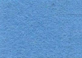 Viltlapje viscose lichtblauw  20x30cm - 1mm   1 vel