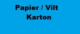 Papier / Karton / Vilt