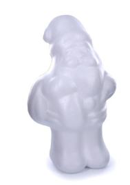 Kerstman polystyr. 21cm