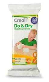 Creall Boetseermateriaal Do&Dry airdrying wit 500gr (1 ST) 26011