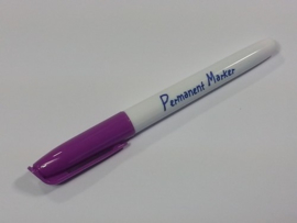 Collall Krimpie Permanent marker - paars COLPTS56