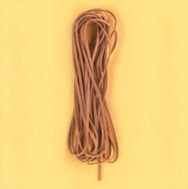 Koord imitatieleer vierkant bruin 3 mm 5 MT 12005-0009