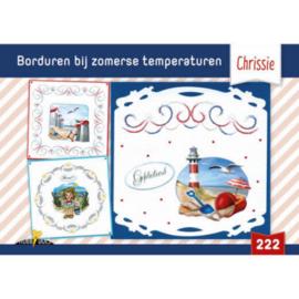 Hobbydols 222 Borduren bij zomerse temperaturen - Chrissie