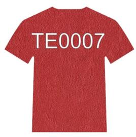 Siser 3D techno flex-folie TE0007 Rood