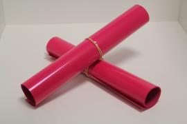 S0024  Neon Pink Flock  30 x 50 cm