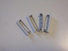 Brochespelden met zelfklevend foam 32mm 4 ST 11808-1161