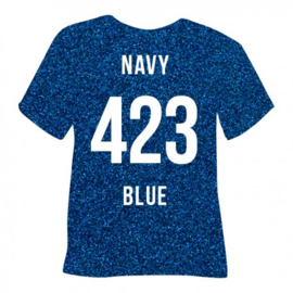 423 Pearl Glitter Navy Blue