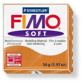 Fimo Soft cognac 57 GR 8020-76