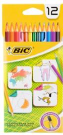 12 Kleurpotloden BIC