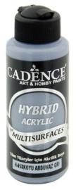 Cadence Hybride acrylverf (semi mat) Donker leigrijs 01 001 0058 0120 120 ml