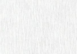 1 pak Crepepapier wit 250X50CM