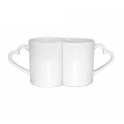 Pair of mugs 300 ml Sublimation Thermal Transfer