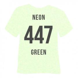 447 Groen Neon Glitter