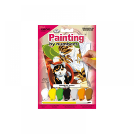 Schild.op nummers mini 12,5x17,5cm Junior Katten