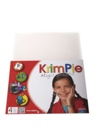 Collall Krimpie  - Magic Plastic  frosted  4 VL 1 PK COLKPFR4