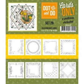 Dot and Do cards only 29